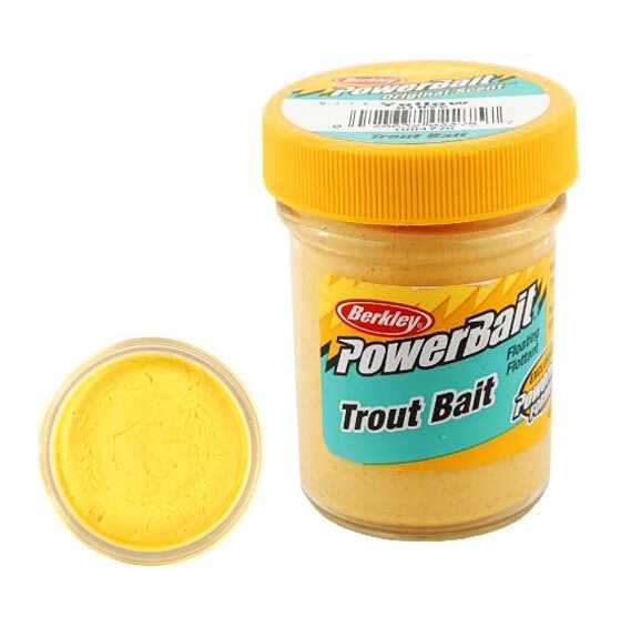 Berkley Pasta Trucha Biodegradable PowerBait Yellow