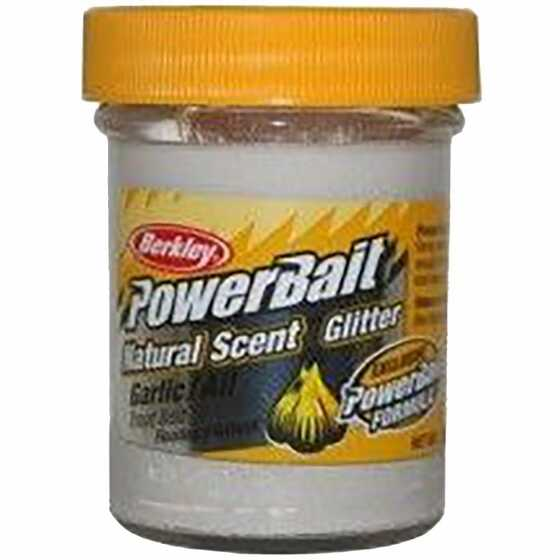 Berkley Pasta Trucha PowerBait Natural Scent Garlic White