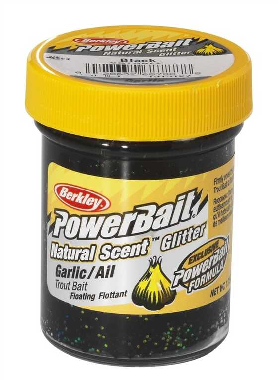 Berkley Pasta Trucha PowerBait Natural Scent Garlic Black