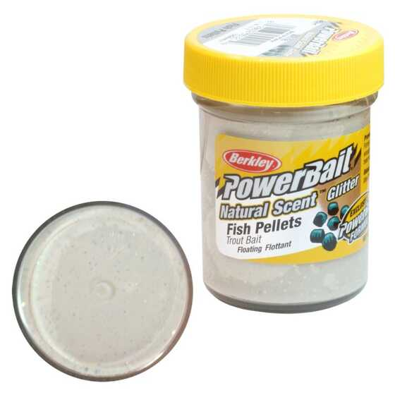 Berkley Pasta Trucha PowerBait Natural Scent Fish Pellet White