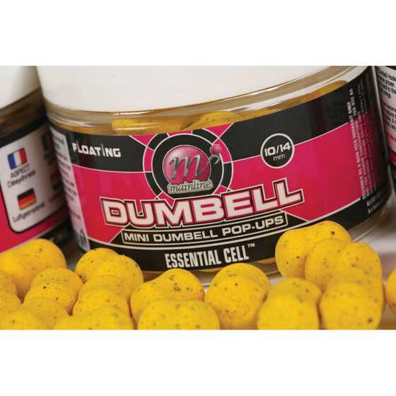 Mainline Pop-ups Dumbell 15 mm Essential Cell