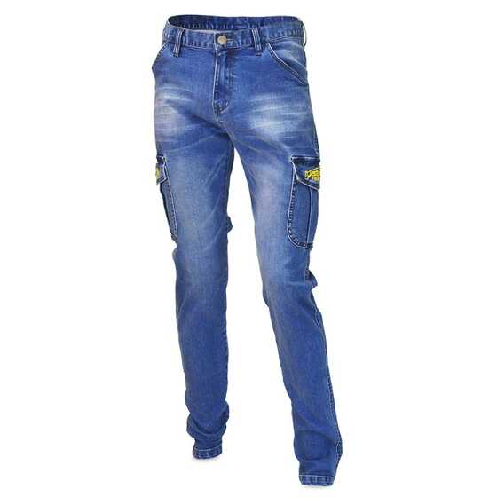 Tubertini Pantalons Denim Cargo