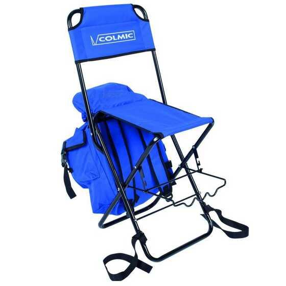 Colmic Chaise avec Sac et Support de Canne