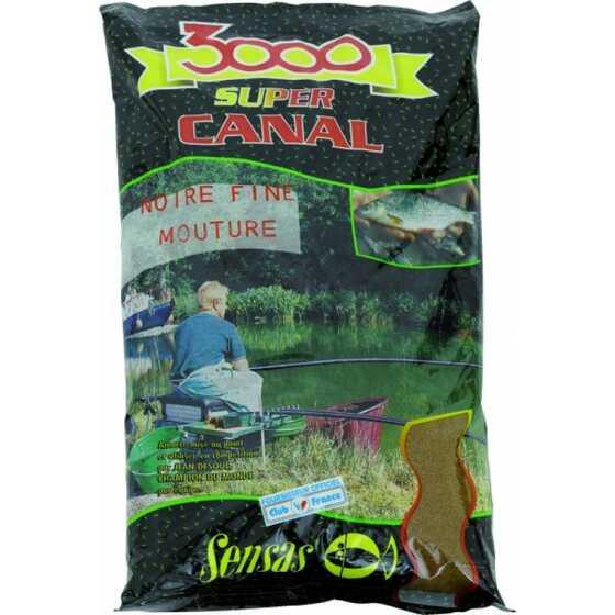 Sensas 3000 Canal Noire Fine Mouture