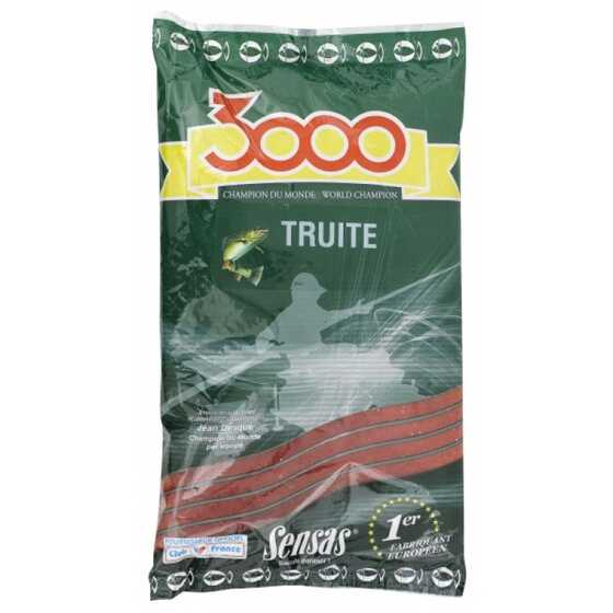 Sensas 3000 Trout Red With Pellet