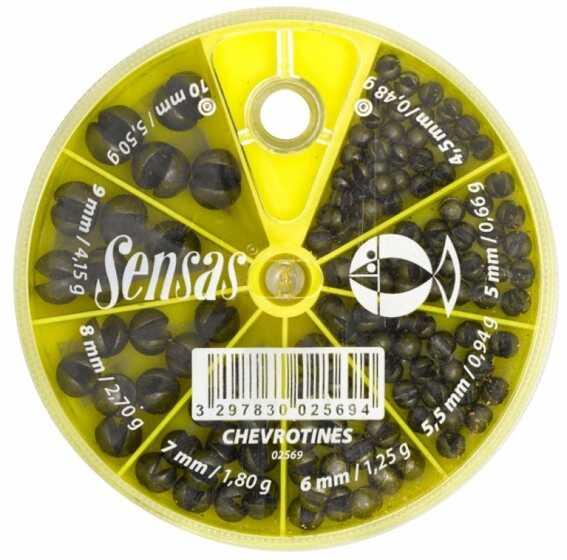 Sensas 8 Section Big Shot Dispenser