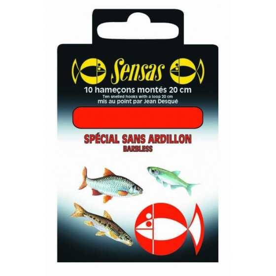 Sensas Barbless 20 Cm