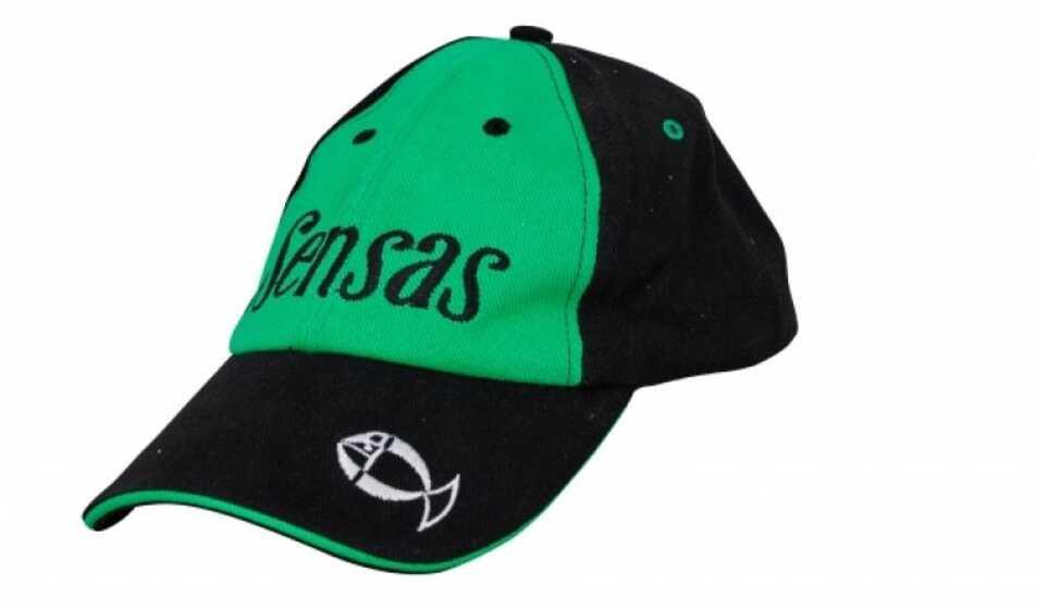 Sensas Coimbra Black - Green Cap