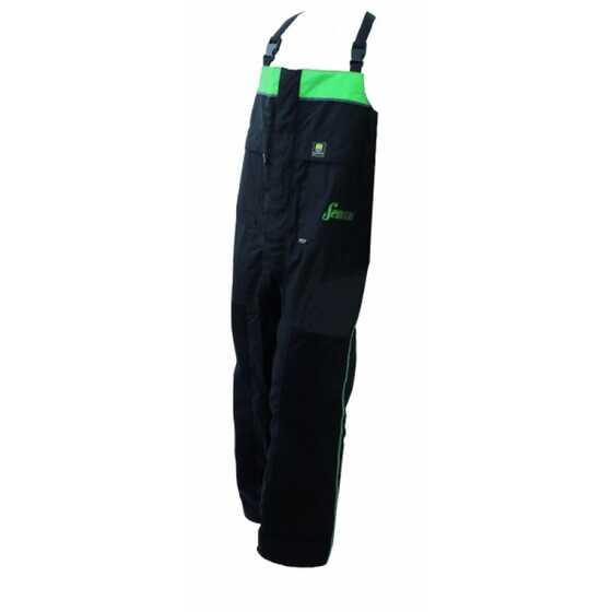 Sensas Gore-tex Salopette Black - Green