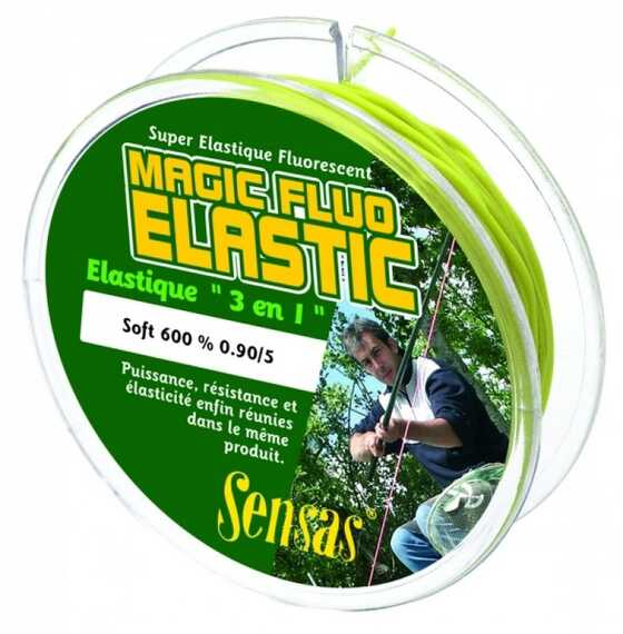 Sensas Magic Fluo Elastic Soft