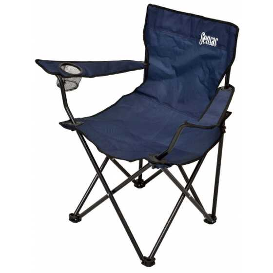Sensas Navy Folding Chair