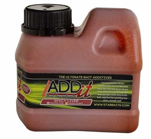 Starbaits Ad It Liquid Spicy Liver