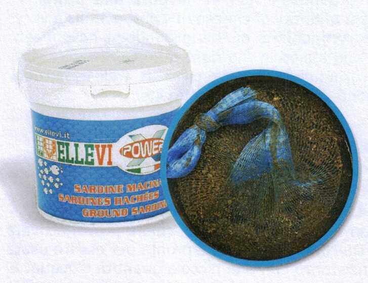 Ellevi Top Mare Sardine Macinate con Rete - Secchiello Richiudibile