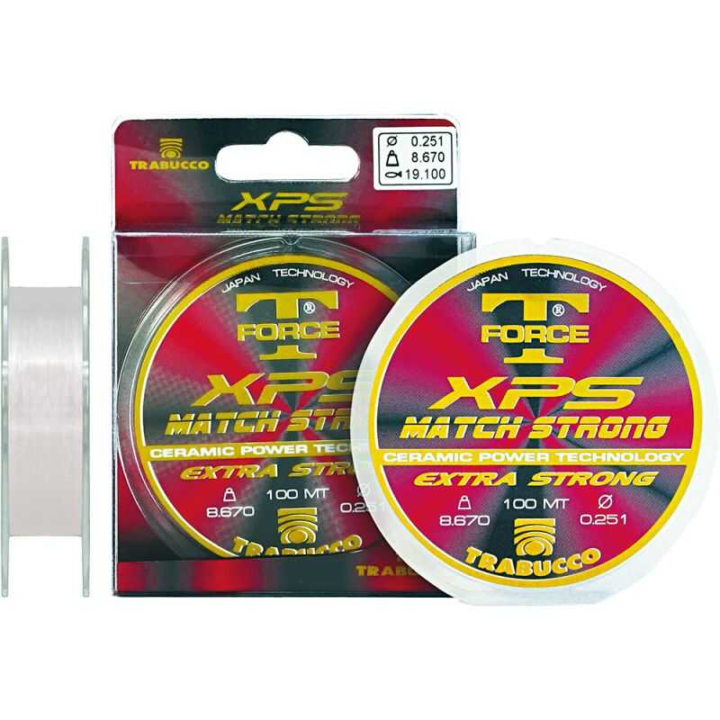 Trabucco Match Strong XPS T-Force - 0.104 mm - 1.60 kg - 50 m