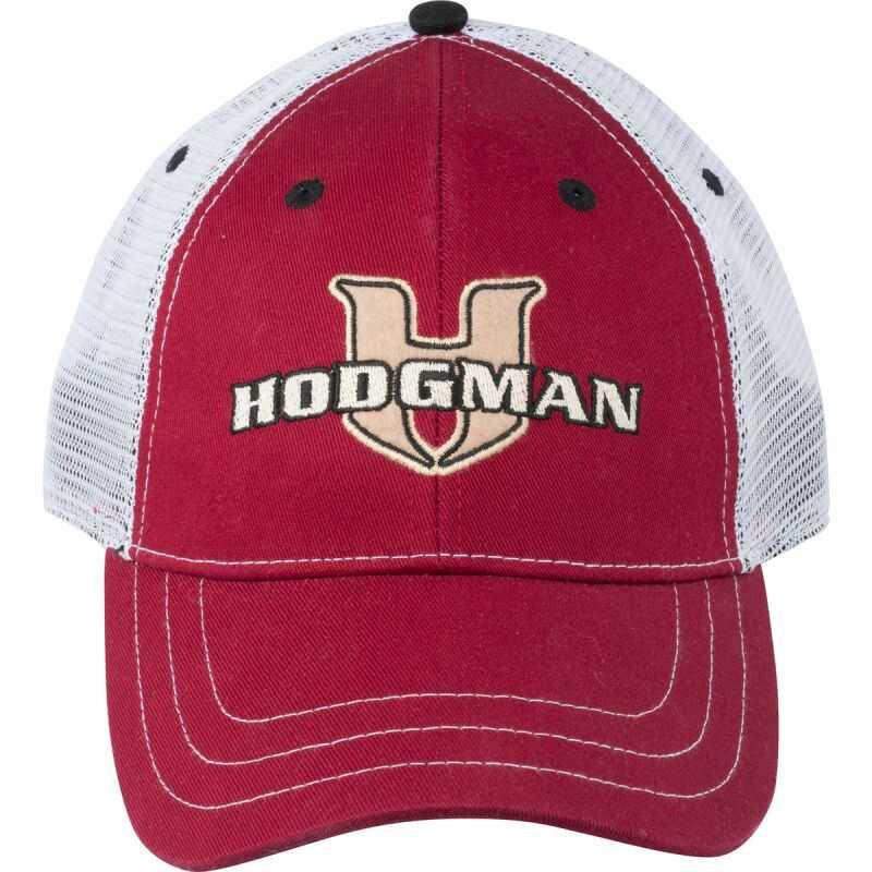 Hodgman Trucker Patch Cap - One Size - Colour Garnet Red