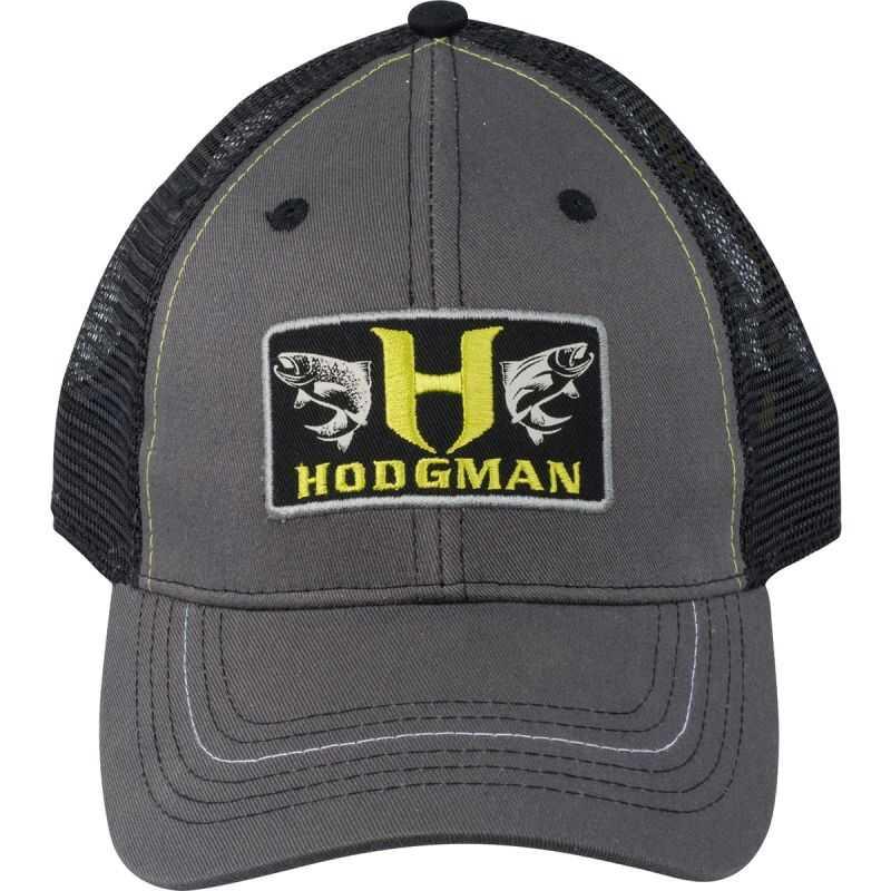 Hodgman Trucker Patch Cap - One Size - Colour Grey