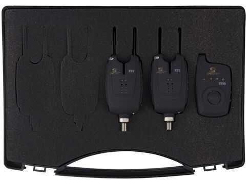 Carp Spirit Set Of XTE Alarms and XTRE Receiver - 2 XTE Alarm & 1 Receiver Set