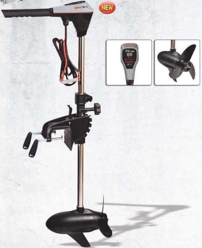 Rhino BLX 70 Electric Outboard Motor - 12.2 kg - 12 V
