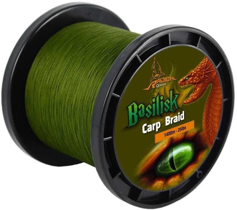 Radical Basilisk Carp Braid - 0.28 mm - 1400 m