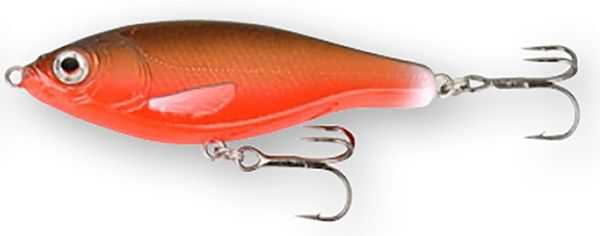 Savage Gear 3D Roach Jerkster - 6.3 cm - 8 g - Black and Red
