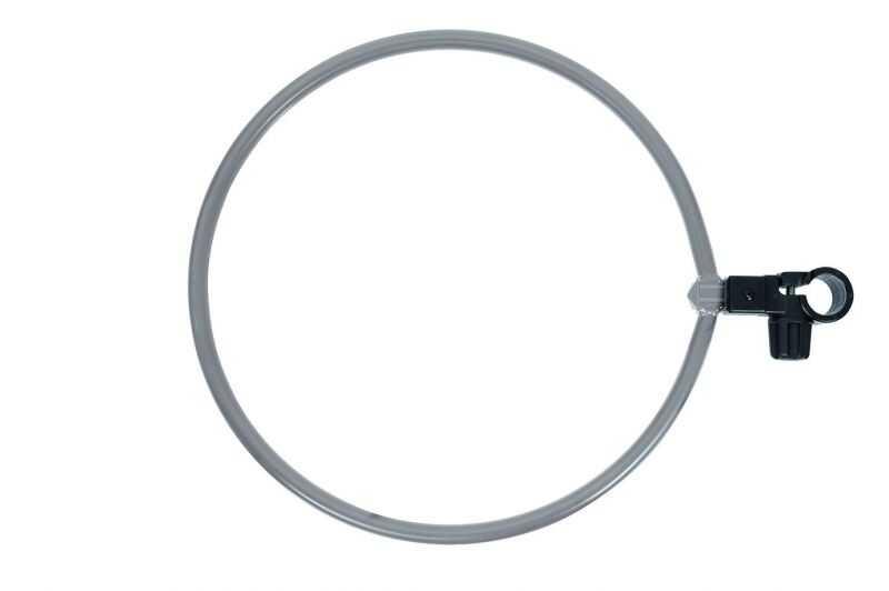 Colmic Círculo de Aluminio Gancho Individual - Diámetro 33 cm - Balde 12 lt - Recipiente 5 lt