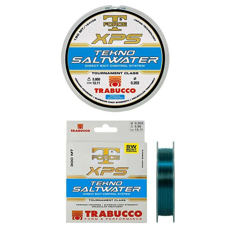 Trabucco T-Force XPS Tekno Saltwater - 0.30 mm - 300 m
