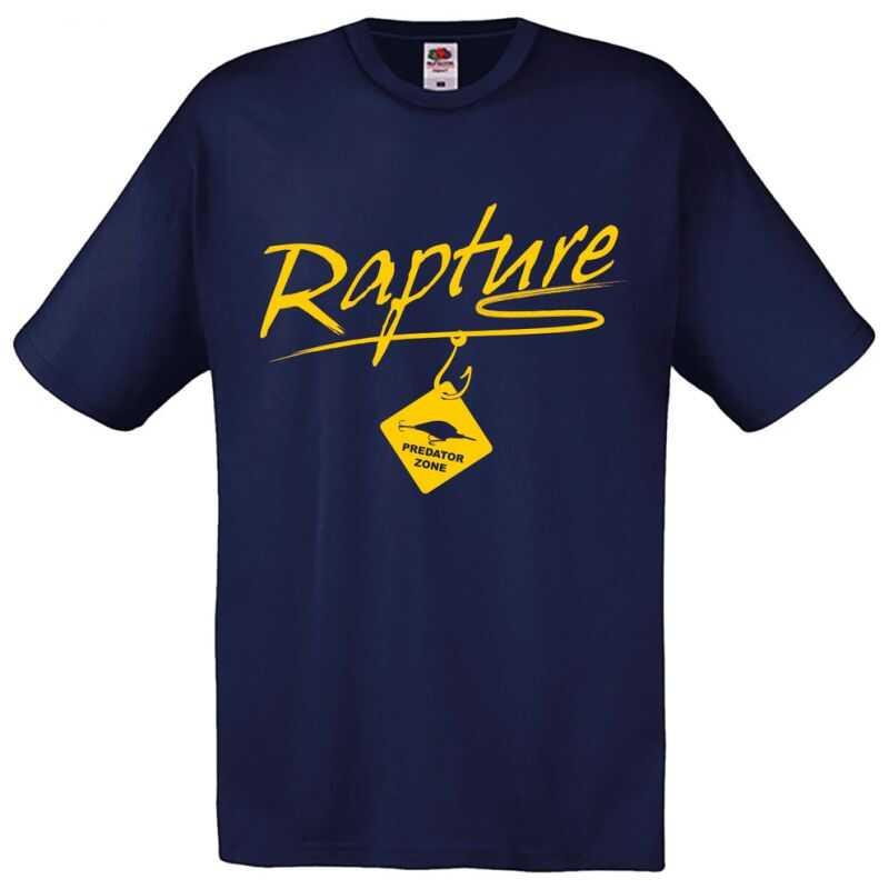 Rapture Predator Zone T-shirt Navy - M