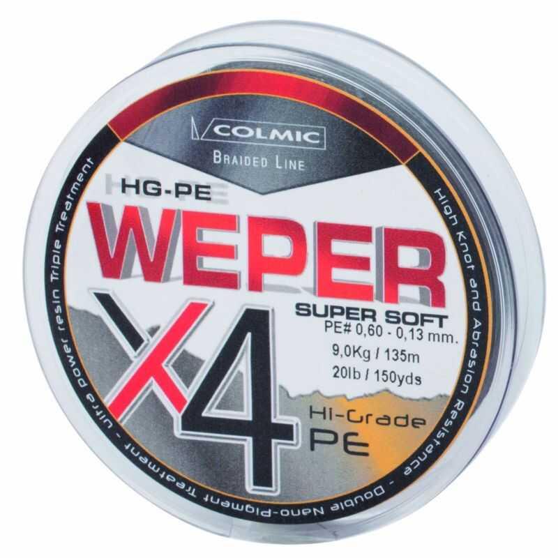 Herakles Weper X4 - 100 yd - 0.05 PE - Grey
