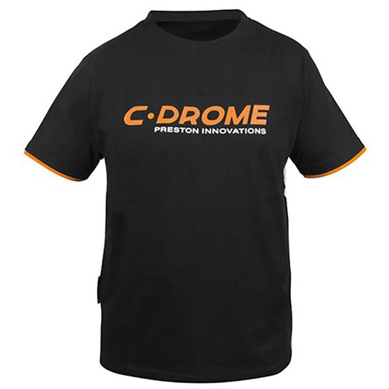 Preston C Drome Black T Shirt - M