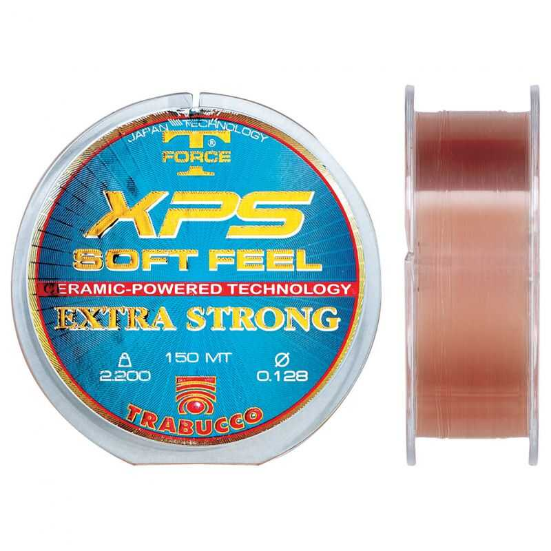 Trabucco XPS Soft Feel T-Force - 0.128 mm - 2.20 kg - 150 m