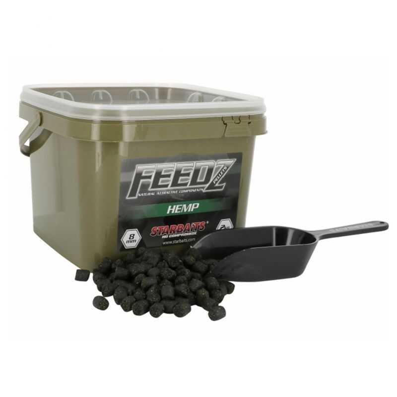 Starbaits Feedz Hemp Pellets - 8 mm - 2 kg