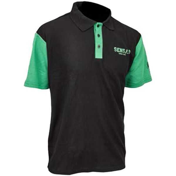 Sensas Polo Club Bicolore Nera Verde - S