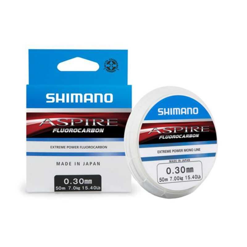 Shimano Aspire Fluorocarbon - 0.12 mm - 50 m