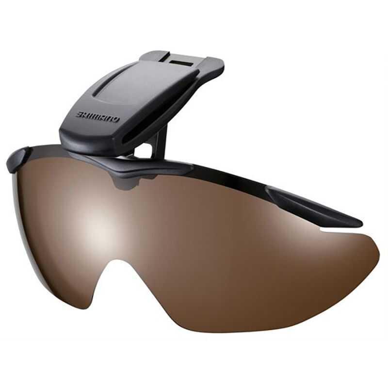 Shimano Cap Clip Sunglasses - Lens Smoke
