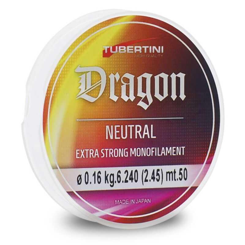 Tubertini Dragon Neutral - 0.10 mm - 50 m