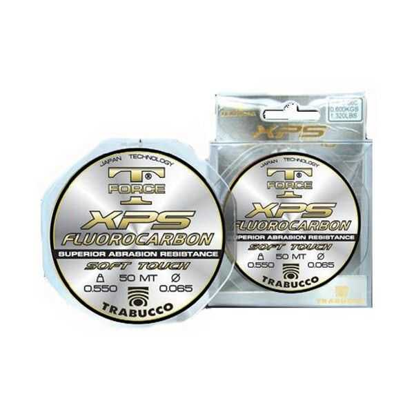 Trabucco Fluorocarbon XPS T-Force - 0.104 mm - 50 m