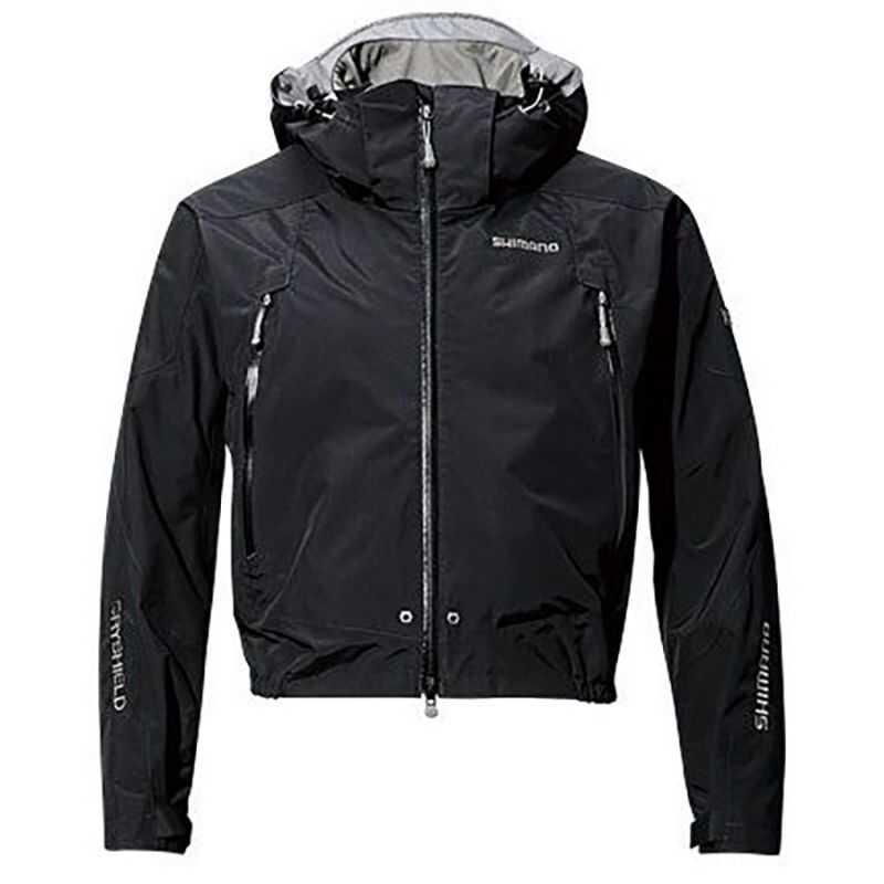 Shimano Chaqueta Dryshield Advance Short Rain - L - Black