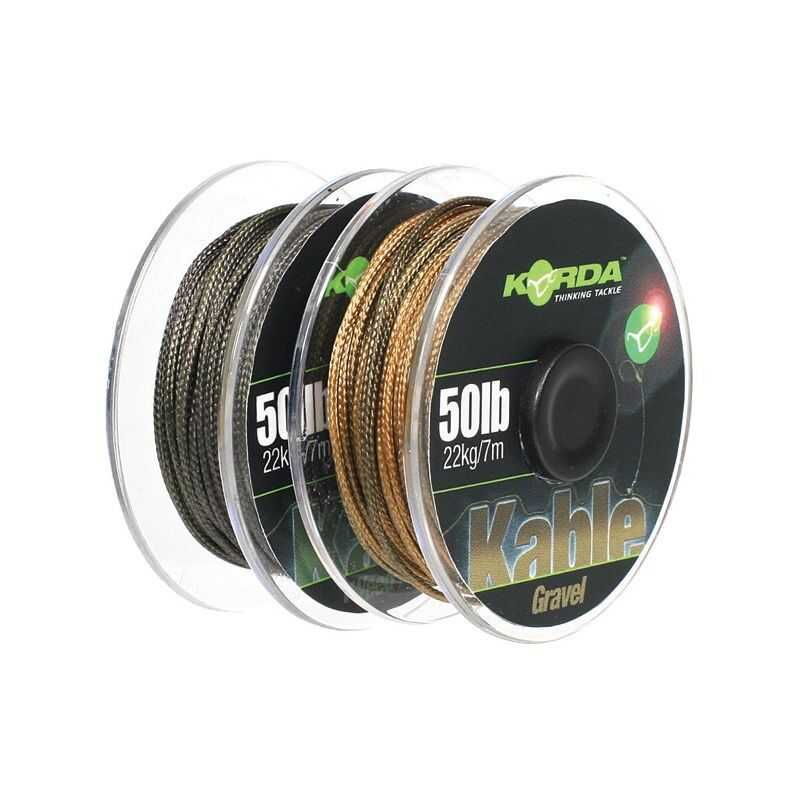 Korda Kable Leadcore - Gravel - 7 m