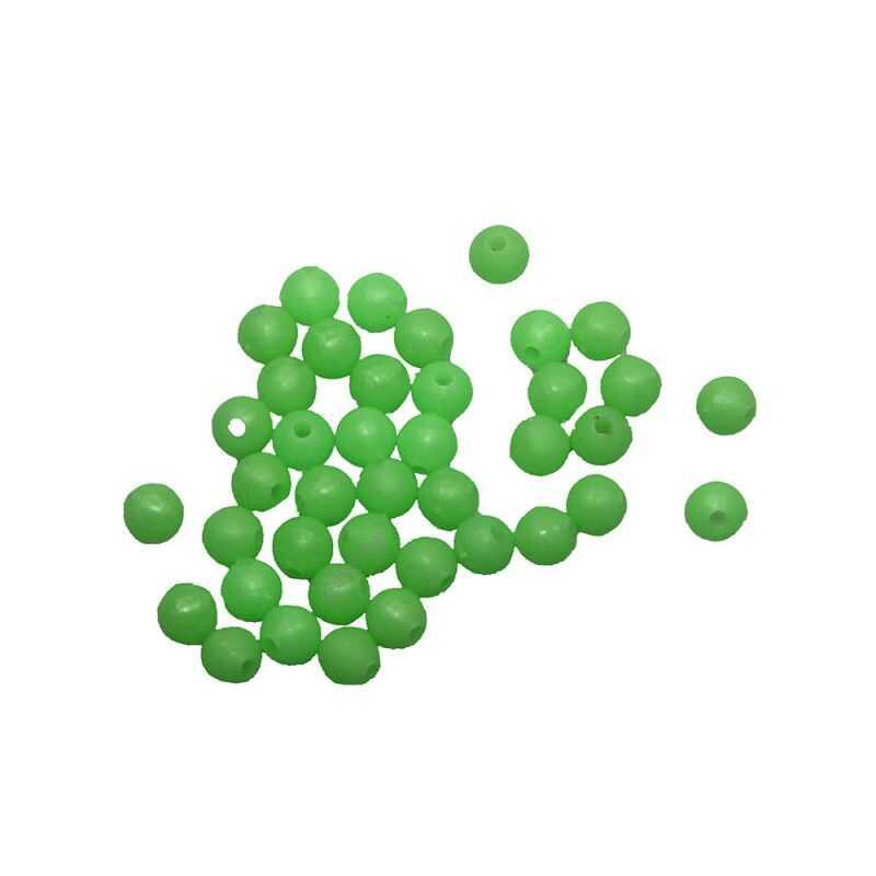Contumax Perle Rigide Verte Fluo - 3 mm