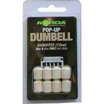 Korda Pop Up Dumbell - Banoffee 12 mm