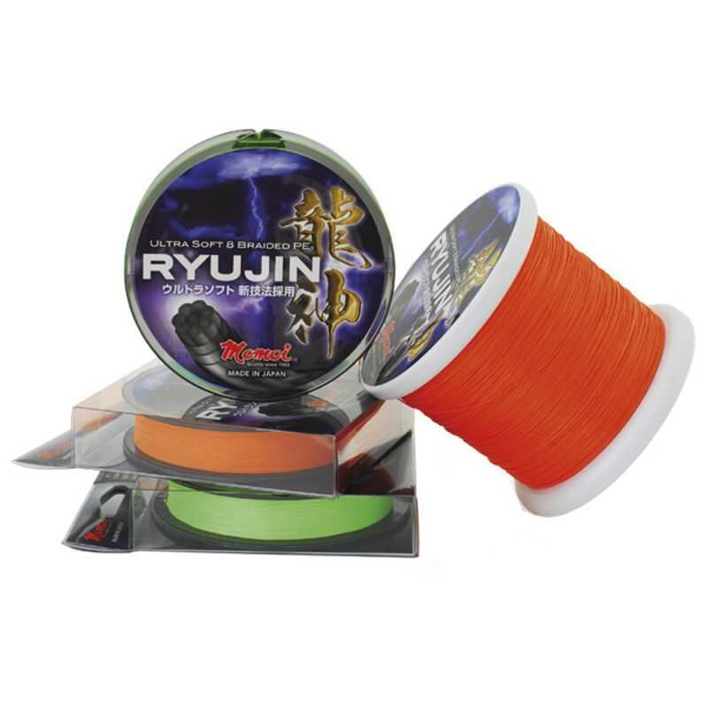 Momoi Ryujin Ultra Soft 8 Braided PE - 0.26 mm - 300 m - Orange