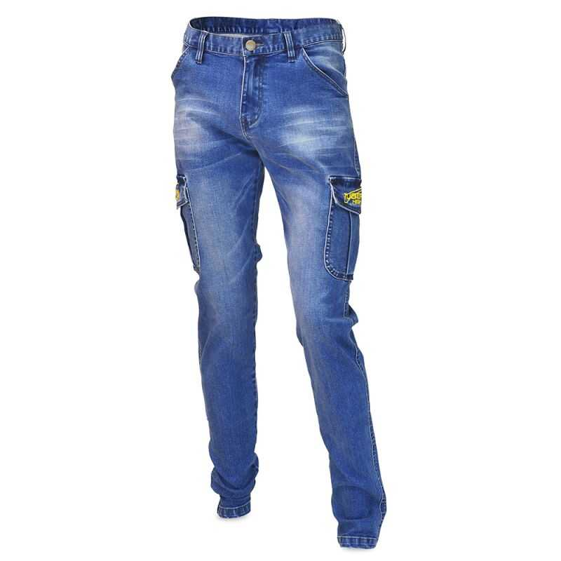 Tubertini Pantalone Denim Cargo - XL