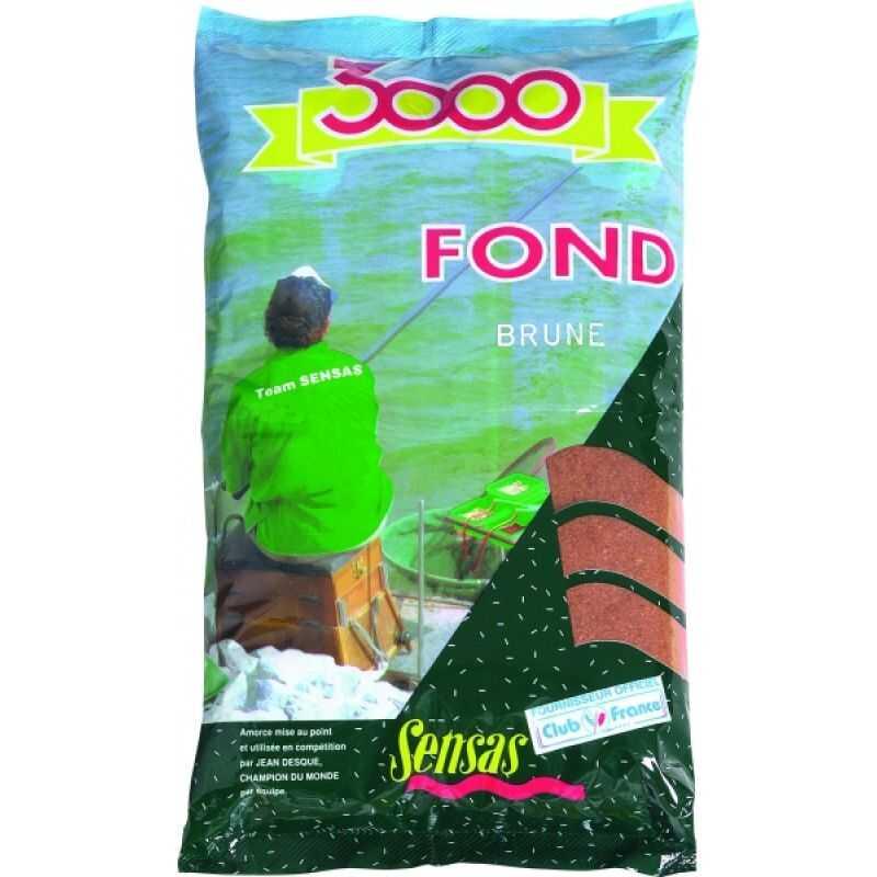 Sensas 3001 Fond Brune - 1 kg