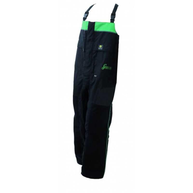 Sensas Gore-tex Salopette Black - Green - S