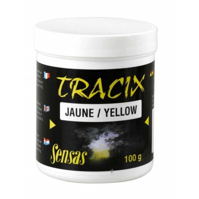 Sensas Tracix Jaune - Yellow - 100 g