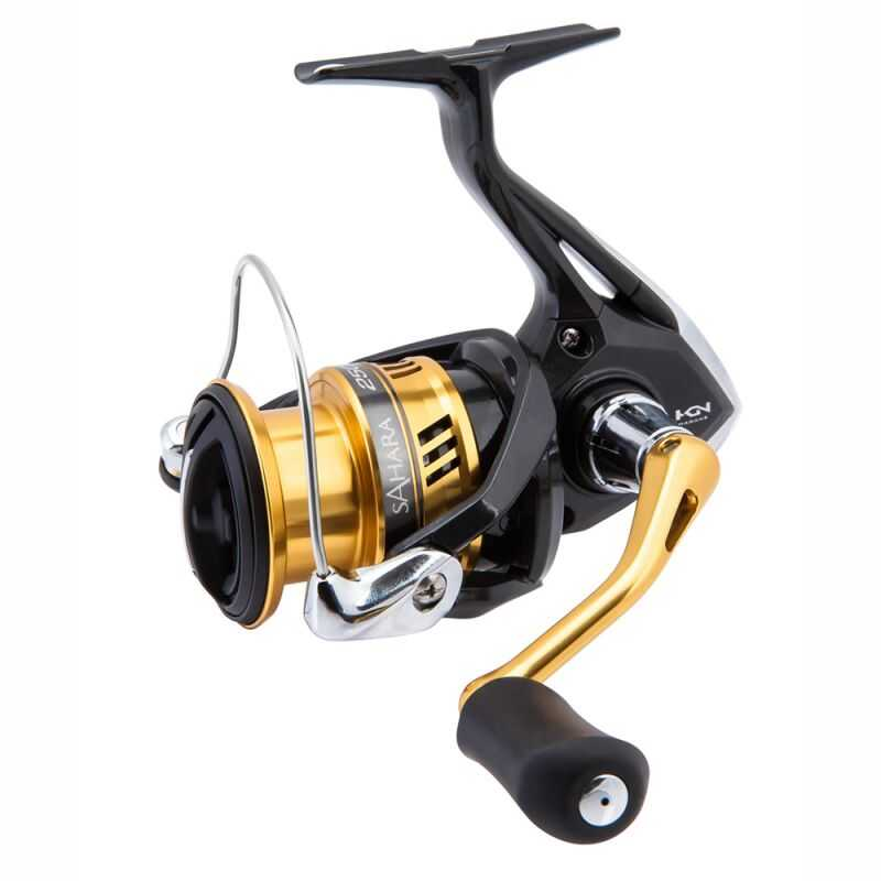 Shimano Sahara Fi - 2500 - High Gear - Bobine Shallow