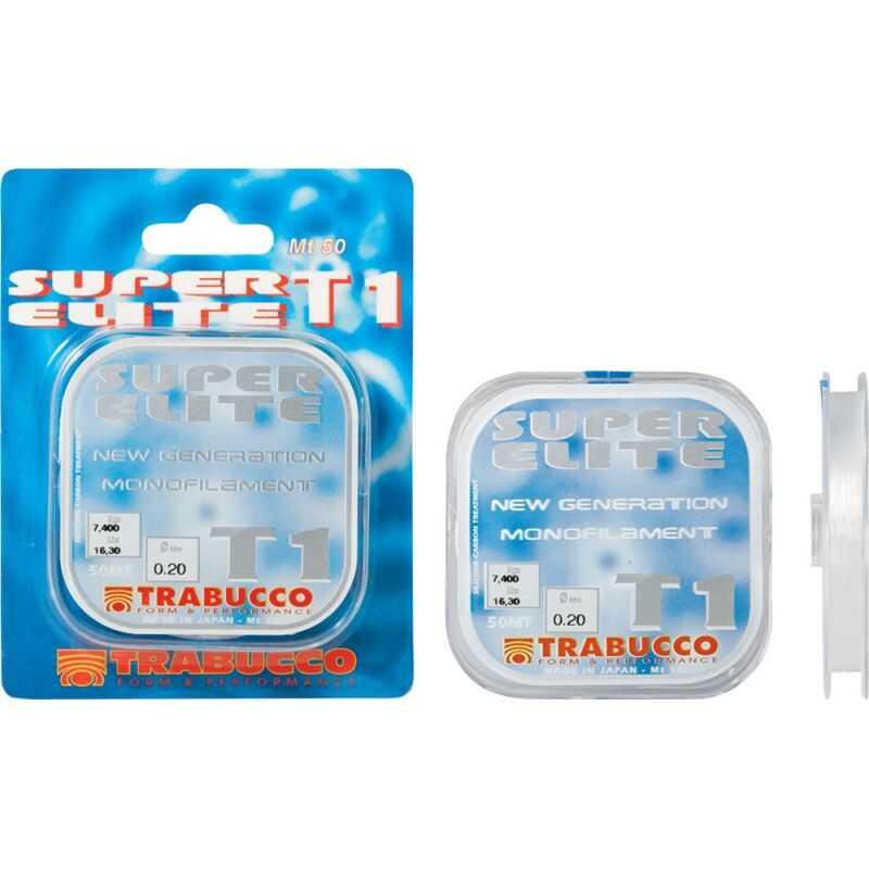 Trabucco T1 Tournament Super Elite - 0.10 mm - 50 m