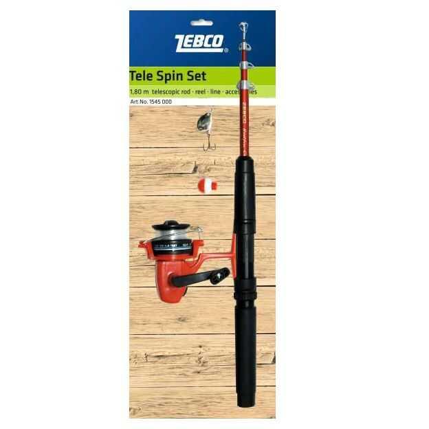 Zebco Tele Spin Set - 1.80 m - 25 g