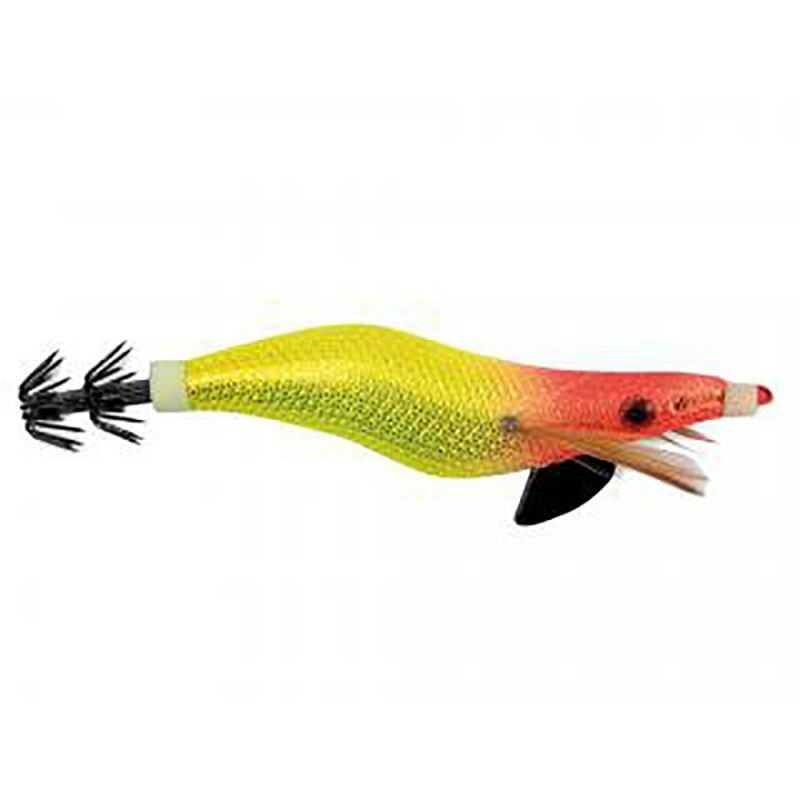 Lineaeffe Totanare Seta - Red Head Yellow - Taille 2.5 - 7.5 cm
