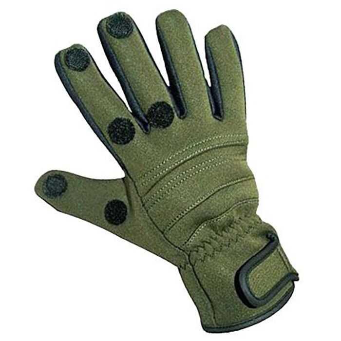 Zebco Neoprene Gloves - L